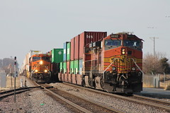 BNSF 4632 (CC 8039) Tags: bnsf trains ac44cw c449w es44ac et44c4 meet rochelle illinois