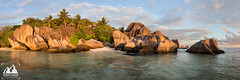 Anse Source D'argent (etunar) Tags: seychelles ansesourcedargent beach granite panorama graniteboulder sunset goldenlight goldenhour tropicalisland tropical turquoise landscape landscapephotography esentunar ladigue nature travel