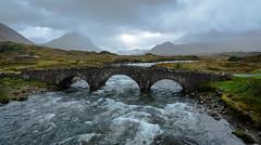Sligachan Stone Bridge (explored) (robin-loo) Tags: river sligachan skye scotland bridge landscape nikon nikond5100 explored
