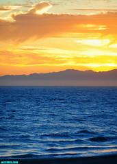 SizzlingSummerEvening (mcshots) Tags: usa california socal losangelescounty summer sunset coast sky clouds hot humid evening sun 2015 stock mcshots