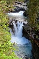 Falling Water (Patricia Henschen) Tags: banff nationalpark alberta canada banffnationalpark parkscanada parcs parks trail johnstoncanyon johnstoncreek waterfalls waterfall hike canyon creek canadianrockies