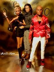 Saturday night (krixxxmonroe) Tags: ira d ryan photography krixx monroe styling nu face dominique ayumi fashion royalty damon super model tobias