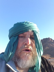 Selfie: working out how to take photos and hold on riding the camel (John Englart (Takver)) Tags: morocco zagora cameltrek camels desert saharadesert selfie johnenglart