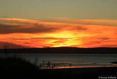 Swansea Bay Sunset (Eiona R. [Busy over the Weekend]) Tags: wfc swansea wales unitedkingdom gb smq sunset