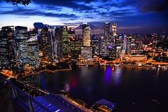(Toro Tsai) Tags: singapore bay marinabaysands msb nikon d7100 1685 nightview sunset skyon57   city travel landscape