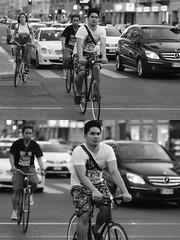 [La Mia Citt][Pedala] (Urca) Tags: milano italia 2016 bicicletta pedalare ciclista ritrattostradale portrait dittico nikondigitale mir bike bicycle biancoenero blackandwhite bn bw 907128
