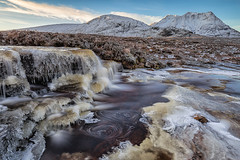 Ice Age (David Ball Landscape Photography) Tags: scotland visitscotland glencoe snow ice sky canon clouds sunrise light travel adventure landscape photography longexposure mountain 2016 davidballlandscapephotography water waterfall river falls