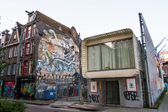 The Future (Past) (photosam) Tags: fujifilm xe1 fujifilmx prime raw lightroom xf18mm12r xf18mmf2r amsterdam noordholland netherlands spar shop architecture modernist decay untidy mundane ugly futurist