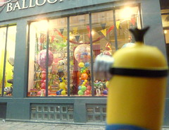 48- City Life  ADAW 2016 (cheesemoopsie) Tags: minion toy