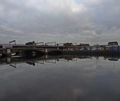 George V Bridge (Bricheno) Tags: glasgow bridge reflections river clyde riverclyde bricheno scotland escocia schottland cosse scozia esccia szkocja scoia