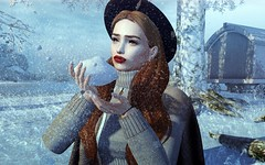 Brrrrr its cold (Fofina - Tres Chic) Tags: luane beusy insol rinka shine rowne hair pose treschic winter snow secondlife event alme nails letre