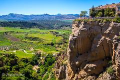 Rhonda Valley (JKmedia) Tags: spain may 2016 boultonphotography canoneos7dmarkii rhonda mountainous rock landscape bridge manmade