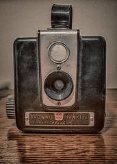 Brownie Hawkeye (KWPashuk) Tags: samsung galaxy note5 lightroom nikcollection kwpashuk kevinpashuk camera brownie kodak hawkeye front vintage antique photography