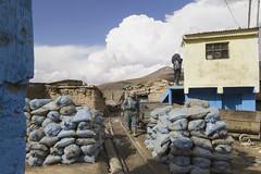 Mineurs de Potosi (PentiBenH) Tags: bolivie blue work travel potosi canon