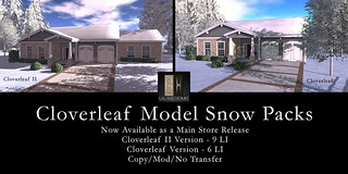 Cloverleaf Models Snow Packages