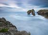 Castro (bertigarcas) Tags: sunset españa seascape marina landscape atardecer asturias paisaje olympus castro zuiko llanes omd 1240 em5 castrodelasgaviotas
