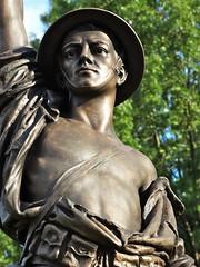Doughboy (e r j k . a m e r j k a) Tags: sculpture monument statue infantry memorial pennsylvania explore bellevue allegheny doughboy upperohiovalley pa65 erjkprunczyk