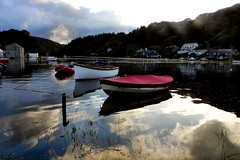 Lerryn 5. Nikon P100 DSCN3281. (Robert.Pittman) Tags: uk river landscape boats cornwall dusk gb coolpix hightide lerryn 0utdoor riverlerryn iamnikon nikonp100 thewestcountrythesouthwest