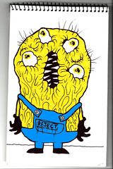 eyesminion (VLCERS) Tags: art illustration artwork artist drawing bart simpsons drip doodle illustrator doodles minions vlcers iheartvlcers