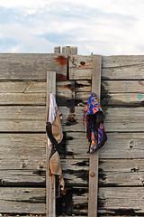 Gone swimming ...... (Finding Chris) Tags: beach sussex underwear shoreham breakwater