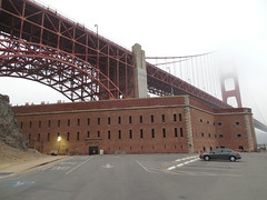 Fort Point Under the Golden Gate (jimmywayne) Tags: sanfrancisco california nationalpark historic goldengate fortpoint ftpoint nationalrecreationarea sanfranciscocounty