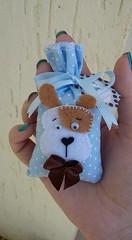 kit do beb (Pina & Ju) Tags: handmade artesanato bebe beb feltro patchwork maternidade tecido sache cheirinho cachorrinho lembrancinha