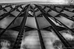 wings of the wtc (rick miller foto) Tags: world new york nyc bw white black building architecture memorial centre 911 wtc trade