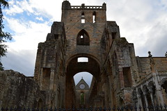 Brooding Jedburgh Abbey (Tony Worrall) Tags: county uk building abbey stone scotland town ruins stream tour open place country north scottish visit tourist historic area past built borders attraction scots ruined relic pastime founded 12thcentury jedburgh scottishborders jedburghabbey augustinianabbey ©2015tonyworrall