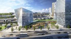 Проект комплекса высоток для Люксембурга от Arquitectonica