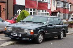 E246 KYF (Nivek.Old.Gold) Tags: auto volvo 1987 1000 gle 760 2849cc