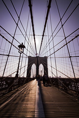 Brooklyn Bridge - New York (jack.mihlenstedt) Tags: city nyc bridge newyork brooklyn sunrise brooklynbridge