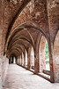 Old Archway (Chorin Abbey 1) (judithrouge) Tags: old gang archway pillars kloster säulen bogengang chorin