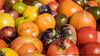 Heirloom Tomatoes (P9260811 (Michael.Lee.Pics.NYC) Tags: newyork farmersmarket bokeh olympus vegetable produce unionsquare mkii markii heirloomtomato em5 1240mmpro28