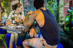 Bangkok Street Tattoos (gary_p_p) Tags: tattoo bangkokstreet