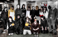 Costume Play - Halloween Party (ogawa san) Tags: halloween japan laboratory kanagawa sfc fujisawa   costumeplay keiouniversity