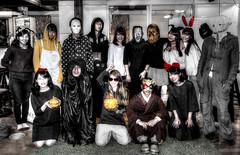 Costume Play - Halloween Party (ogawa san) Tags: halloween japan laboratory kanagawa sfc fujisawa コスプレ ハロウィーン costumeplay keiouniversity 藤沢 ハロウィン 慶應義塾大学 湘南藤沢キャンパス
