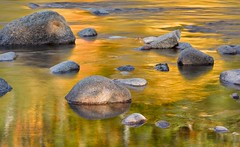 October reflections (Tim Ravenscroft) Tags: autumn usa color colour fall reflections river newhampshire whitemountains pemigawasset