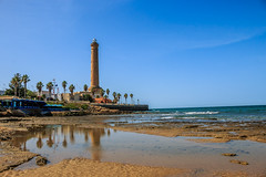 Chipiona - El Faro (grzegorzmielczarek) Tags: espaa faro playa andalucia leuchtturm costadelaluz chipiona farodechipiona playaderegla provinciadecdiz
