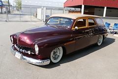 1950 Mercury Custom Wagon (bballchico) Tags: mercury woody custom fatboy 1950 stationwagon merc goodguys briansisson goodguysspokane laurasisson