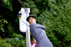 Michelle Wie (Joe Ng Photography @ Vancouver, Canada) Tags: canada sport vancouver golf women britishcolumbia canadian professional tournament northamerica coquitlam putting golfer nationality golfswing lpga vancouvergolfclub 2015canadianpacificwomensopen