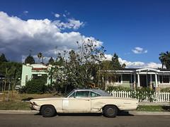 Old Car in Culver City, CA