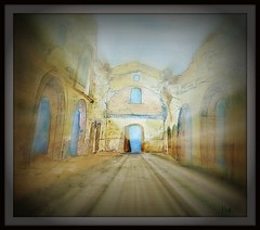 Belchite (patrick.verstappen) Tags: art texture watercolor painting paper photo spring google spain nikon war flickr pat sigma 2008 textured facebook picassa belchite twitter gingelom d7100 pinterest picmonkey