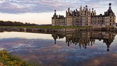 Dusk castle (Aliey Photo) Tags: cher chambord chateau nuages et loire blois orlans