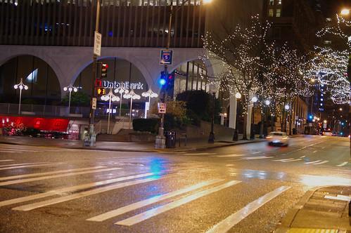 Empty Fifth Avenue.