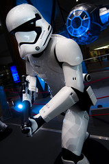 Protect the TIE Fighter! (lastboltnut) Tags: storm trooper airport singapore changi