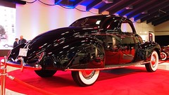 1938 Lincoln Zephyr coupe '859U' 6 (Jack Snell - Thanks for over 26 Million Views) Tags: sf auto show ca 58th wallpaper art cars wall vintage paper san francisco display 1938 center international zephyr lincoln collectible moscone coupe excotic jacksnell707 jacksnell 859u accadomy