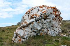 Buteni, Bucegi mountains, rots met oranje mos, Roemeni 2016 (wally nelemans) Tags: buteni bucegi mountains mos moss roemeni romania 2016