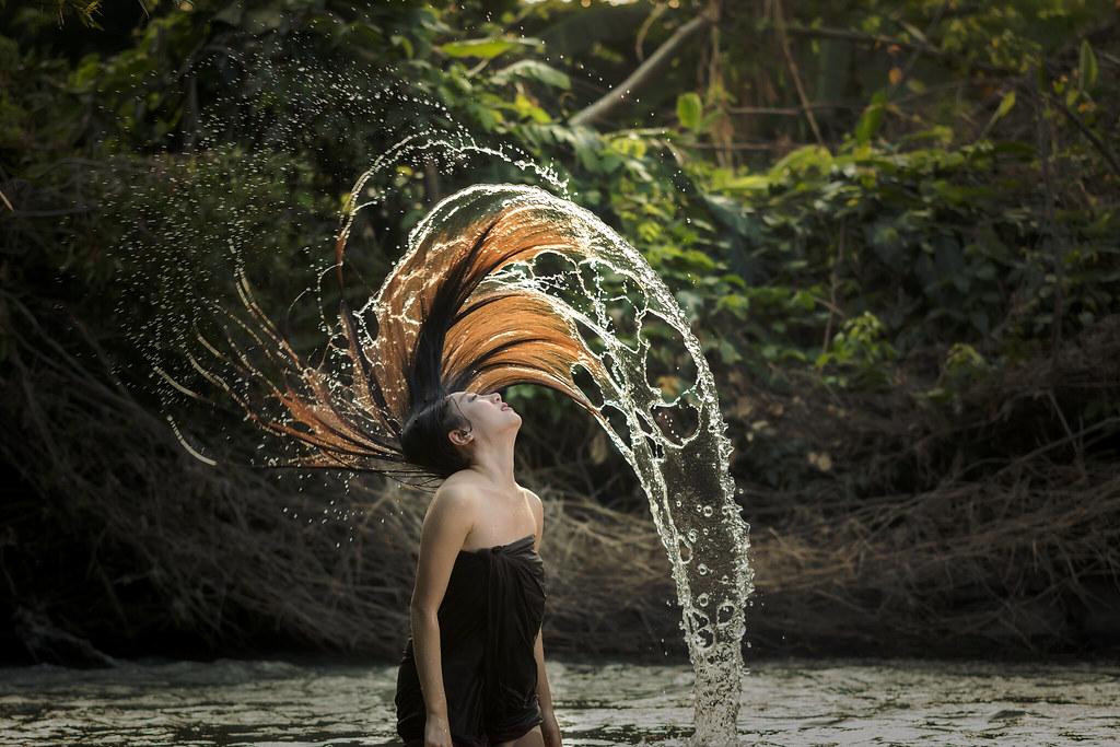 Erotic water play