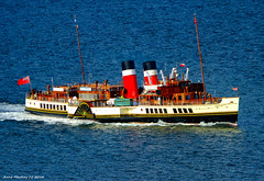 Scotland Greenock the paddle steamer Waverley steaming up the river Clyde 13 October 2016 by Anne MacKay (Anne MacKay images of interest & wonder) Tags: scotland greenock paddle steamer waverley river clyde passenger ship xs1 13 october 2016 picture by anne mackay