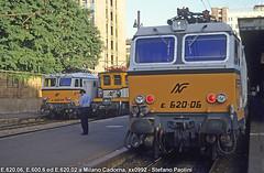 Ok, commuters are coming!! (Stefano Praz Paolini) Tags: tigrotto e620 e600 milano cadorna ferrovie nord fnm